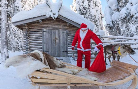SANTA'S LAPLAND: Festive trips to Finland promise Christmas magic and snowy sparkle