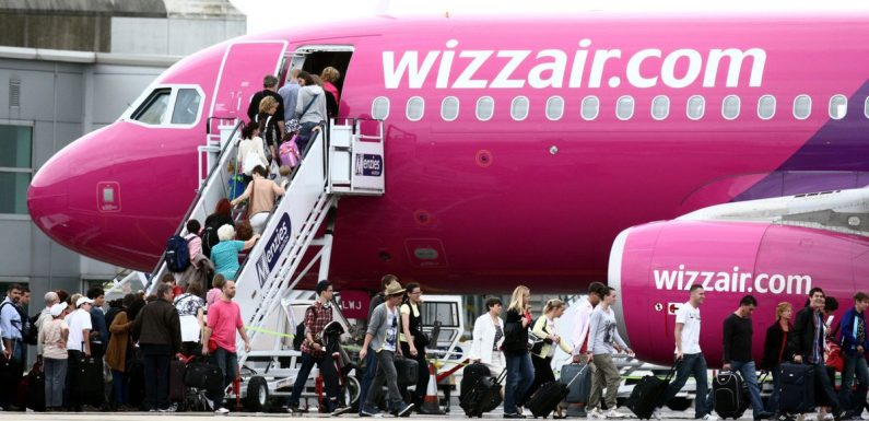 Wizz Air currently has flights to Europe from £8.99 each way but be quick