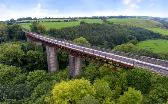 WATCH: What's it like to cycle the Waterford Greenway?