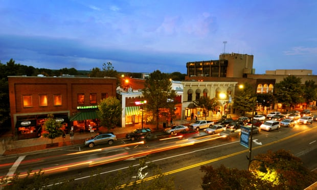 The best towns and small cities in the US: Chapel Hill, North Carolina