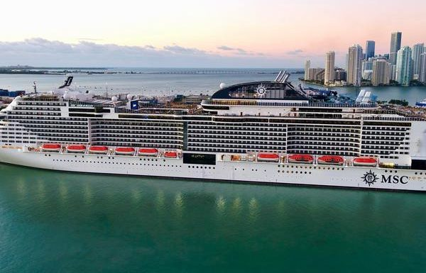 MSC Meraviglia Arrives at New Homeport in Miami