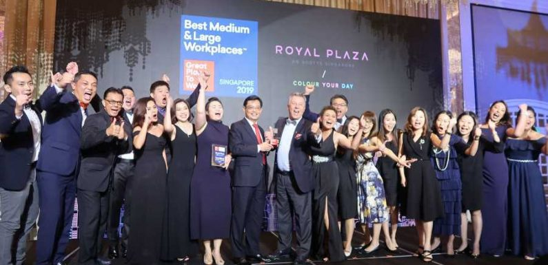Royal Plaza on Scotts Tops the List ·