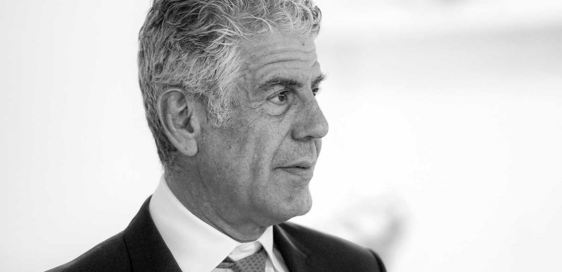 Anthony Bourdain's Personal Belongings Fetch $1.8 Million at Auction