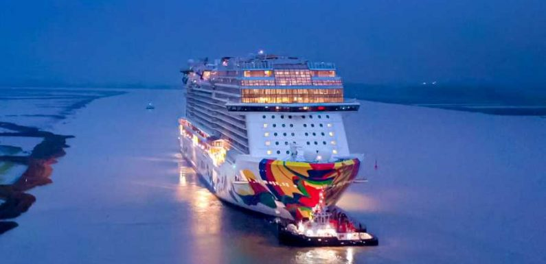 Norwegian Cruise Line christens newest innovative ship ·