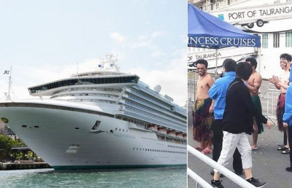 Cruise: Princess Cruises accused of 'racism' after 'fake Māoris' used in New Zealand