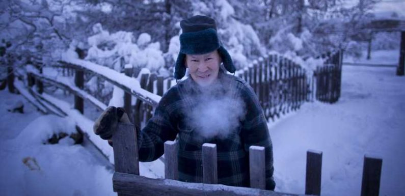 Welcome to Oymyakon, the world's coldest village