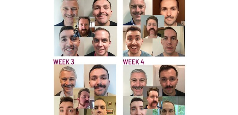 Travel Counsellors show support for Movember ·