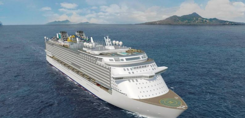 Cruise ship with theme park will feature world's longest rollercoaster at sea