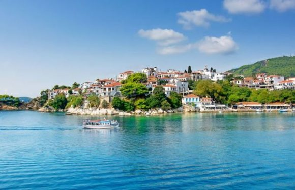 GREECE TRAVEL: Swan around on Skiathos