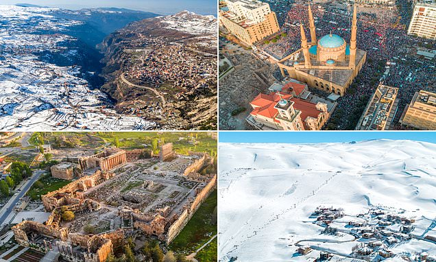 Stunning drone images show the beauty of Lebanon