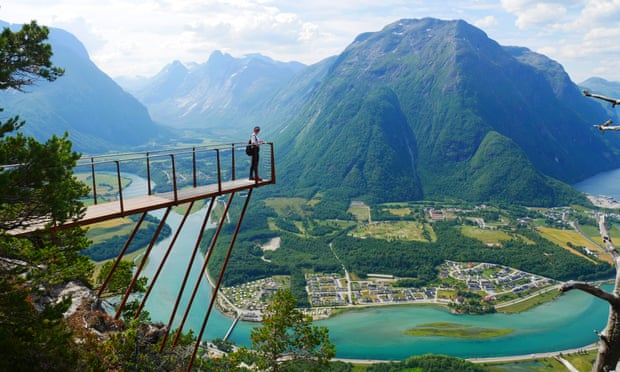 Wild swims and mountain walks in Norway