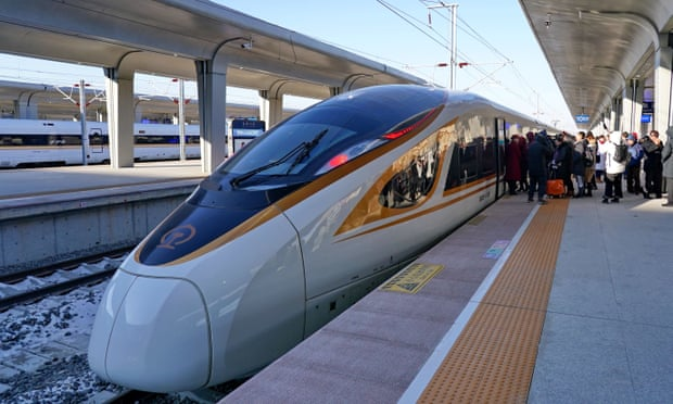 World's fastest driverless bullet train launches in China