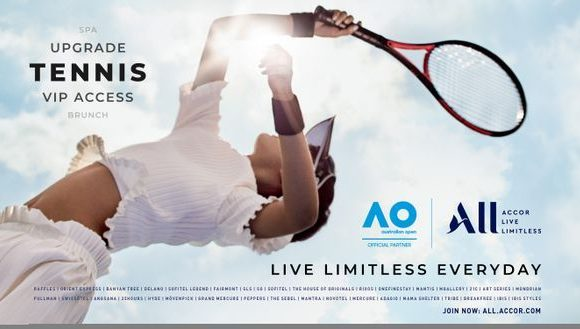 Accor Goes ALL in for Australian Open 2020 ·