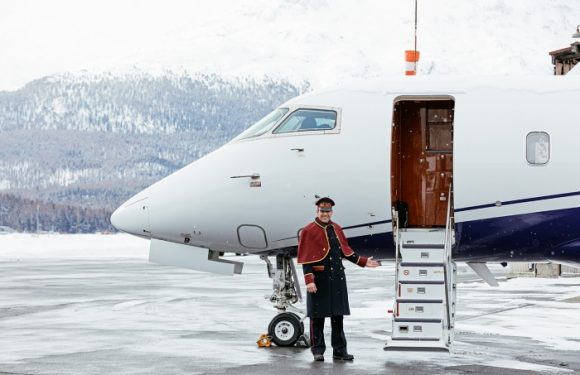 Badrutt's Palace launches own-brand plane