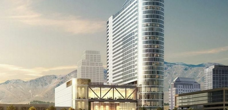 Salt Lake Convention Center Hotel breaks ground ·