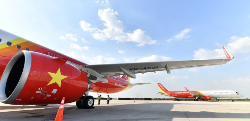 Vietjet receives two 240-seat A321neo ACF aircraft ·
