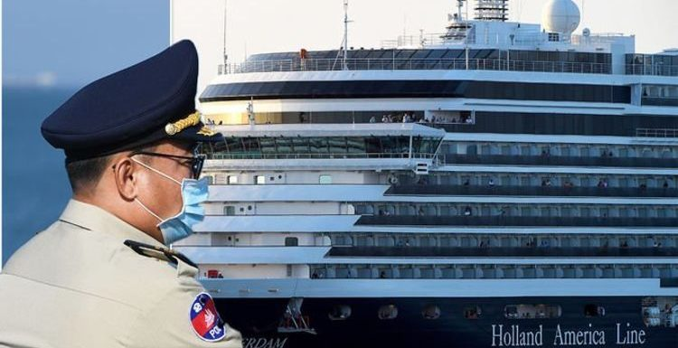 Guests cheer as cruise denied by five countries due to coronavirus fears finally docks