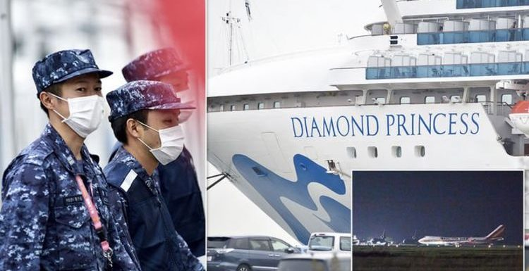 Coronavirus: 14 new cases as Diamond Princess cruise ship evacuates passengers