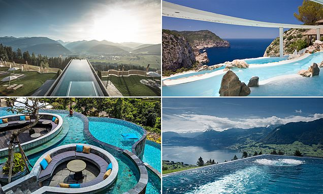 Hot water! The world's most photographed pools