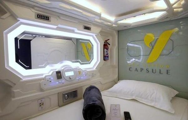 New Capsule Hotel Opens at Cancun International Airport