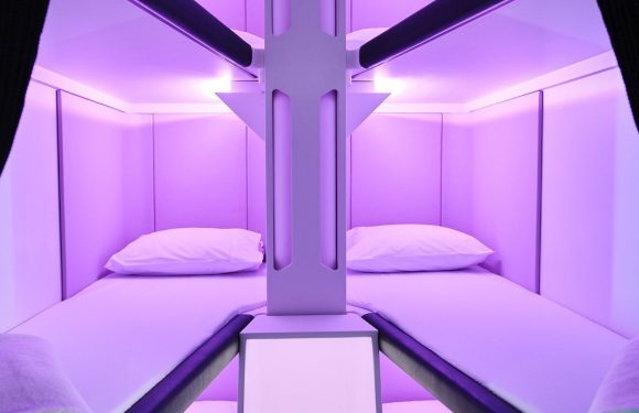 Air New Zealand to put economy travellers to sleep ·