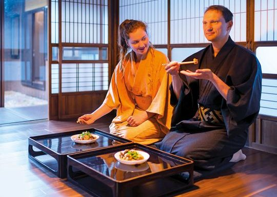 Japan: Touch of tradition