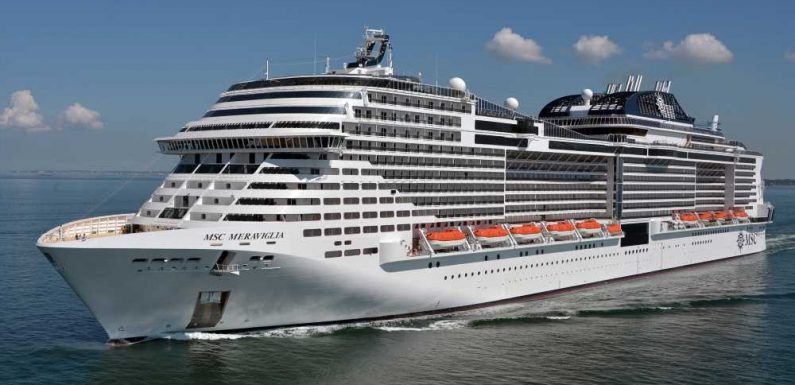 Two Caribbean ports turn away MSC Meraviglia because of one ill worker
