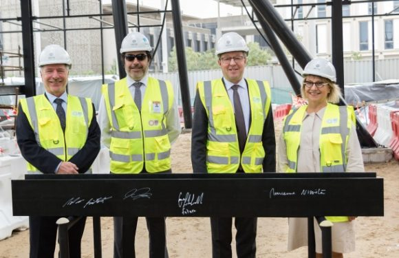 Finland tops out Expo 2020 pavilion in Dubai