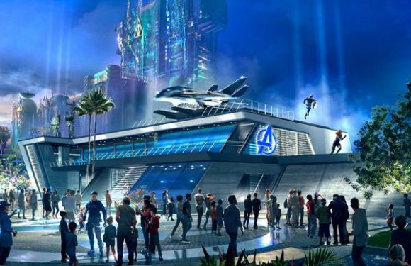 Disney Halts Work on Avengers Campus