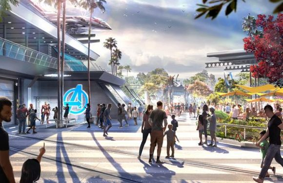 Disney Reveals Details of New Avengers Campus at Disneyland Opening July 18