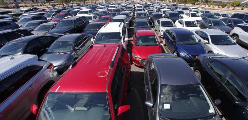 Rental cars are stacking up in Arizona as coronavirus keeps travelers away