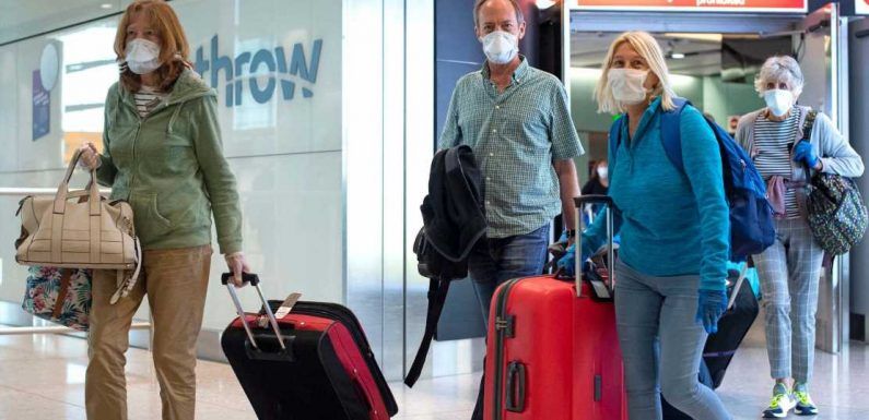 What a new government quarantine policy for arrivals to the UK could mean