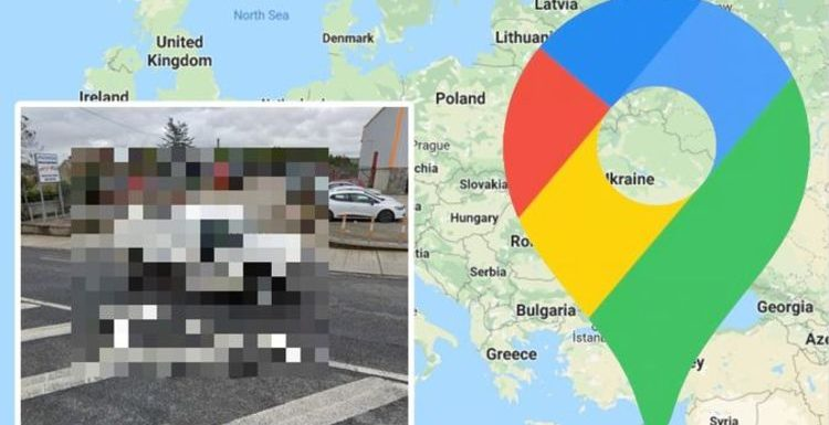 Google Maps Street View: Very rare vehicle spotted in bizarre photo