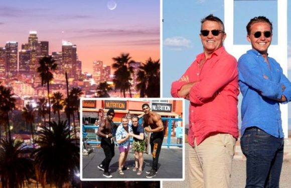 Bradley Walsh & Son: Breaking Dad – The Chase star heads to Los Angeles – travel guide