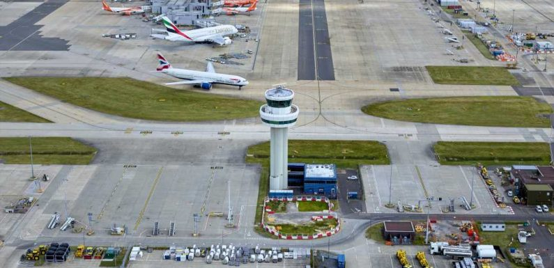 Gatwick airport opens North Terminal with strict social-distancing measures