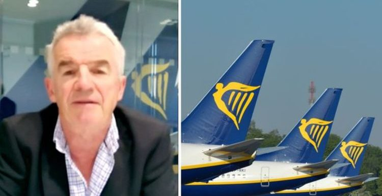 Ryanair boss confirms fliers are in 'perfect safety' as he slams 'nonsense' air bridges