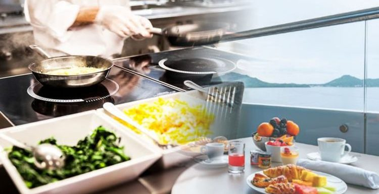 Cruise chef reveals how clean the onboard kitchens really are