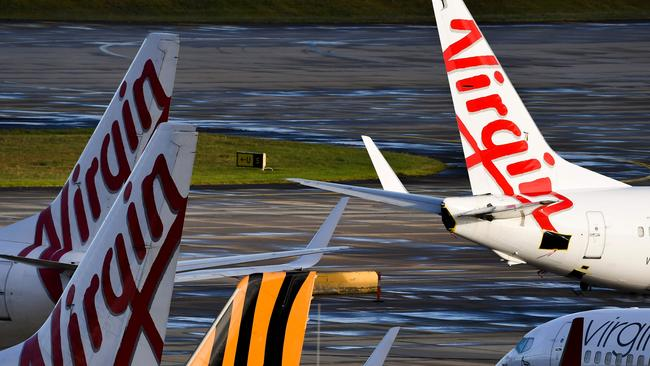 Virgin Australia shares video of planes being 'woken up' with flights to resume