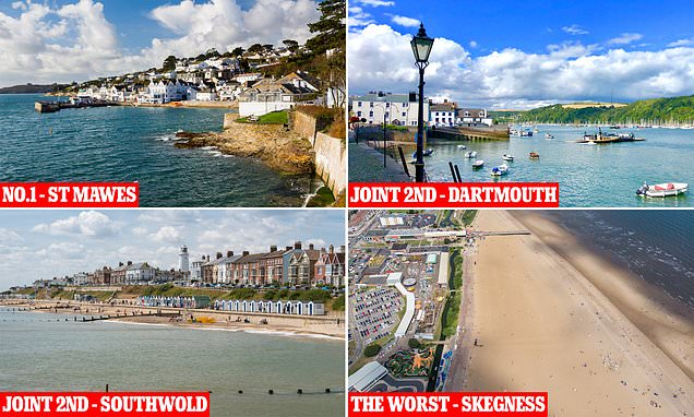 Britain's best and worst seaside destinations named