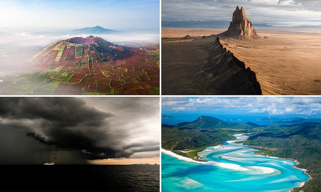 The beautiful shortlisted images in a landscape photography contest