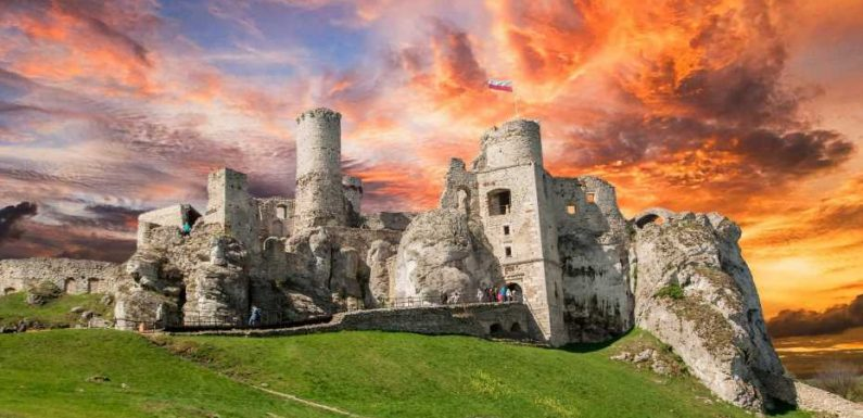 The world's most beautiful abandoned castles