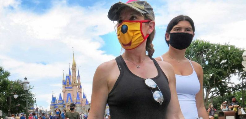 Disney World tightens its mask policy and bans eating while walking