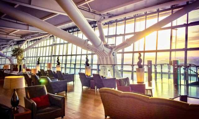 How can you access British Airways lounges?
