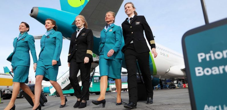 Six vacant routes between Belfast City and British airports have been taken over by Aer Lingus
