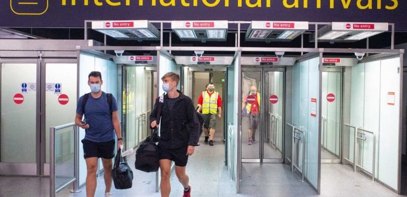 Frustrated passengers react to Spain quarantine rules