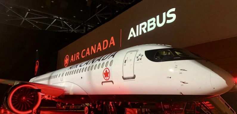 Air Canada threatens to cancel Airbus A220 order if government doesn't ease restrictions