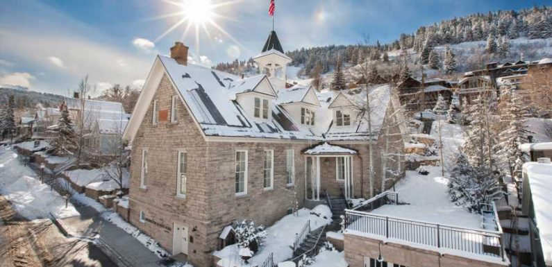 This Historic School in Park City, Utah, Is Now a Boutique Hotel — and You Can Buy out the Entire Thing for $30k a Night