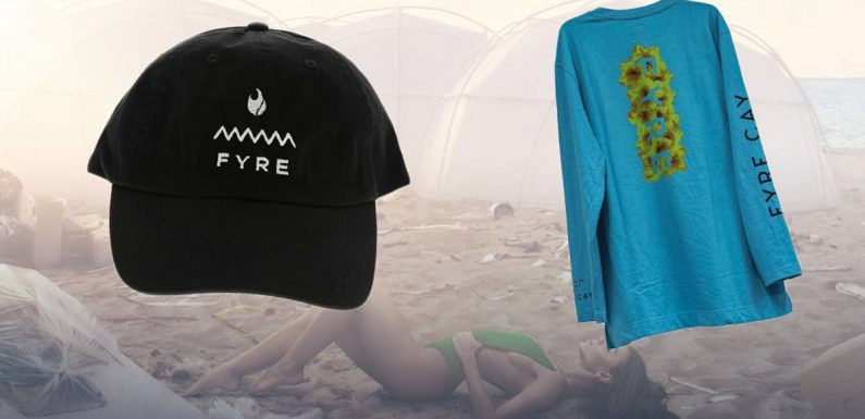 Seized Fyre Festival merchandise goes up for auction