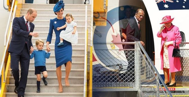 The Queen & Kate Middleton must follow this strict rule when flying – but William does not