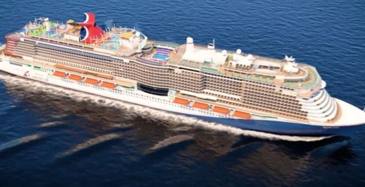 Cruise news: New Carnival ship with first-ever rollercoaster onboard begins sea trials